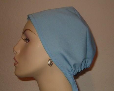 Solid Color Tie Back Scrub Hat (Your choice of color)