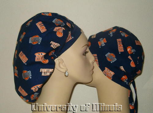 University Of Illinois Scrub Hats